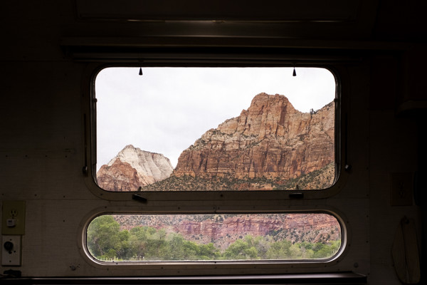 Window to Zion National Park