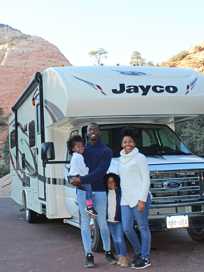 Our First Lessons in Driving an RV