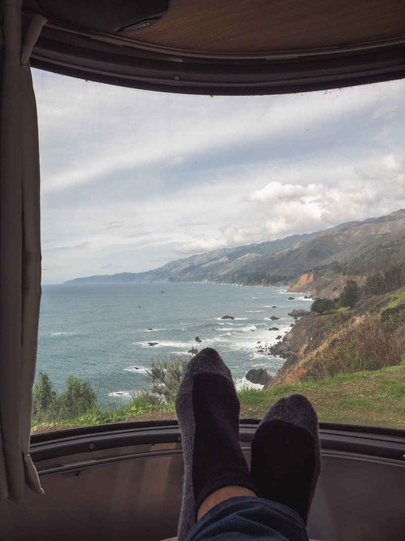 Window to Big Sur, CA
