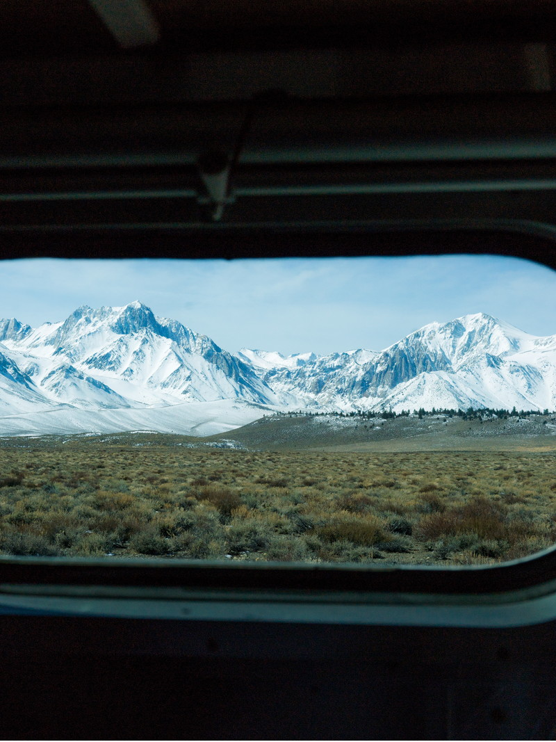 <h1>Window to Mammoth Mountain, CA</h1>