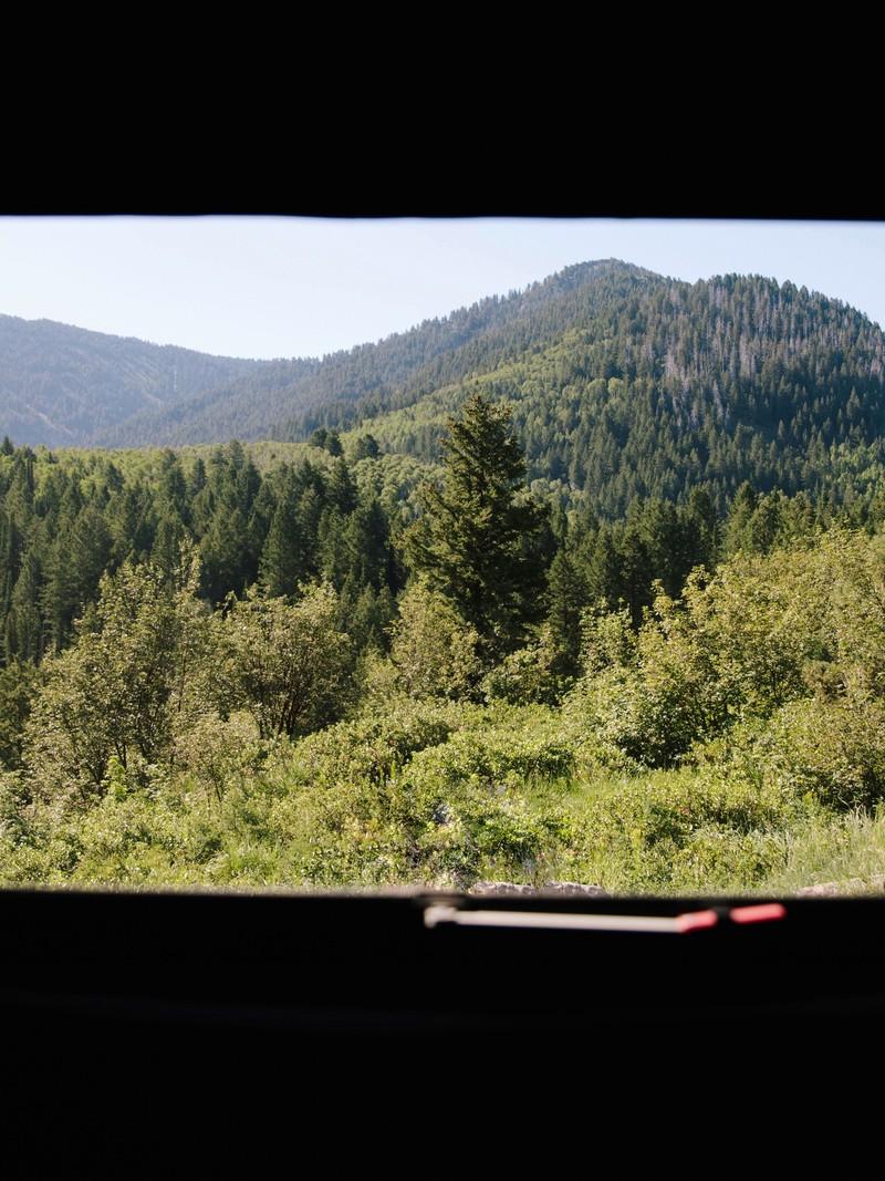 Window to Franklin County, Idaho