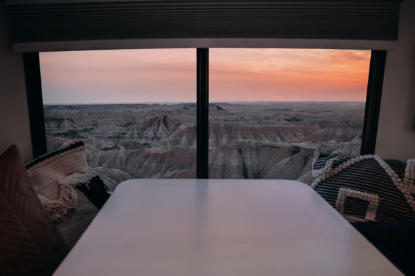 Window to Badlands, SD