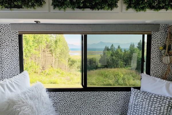 Window to Homer, Alaska